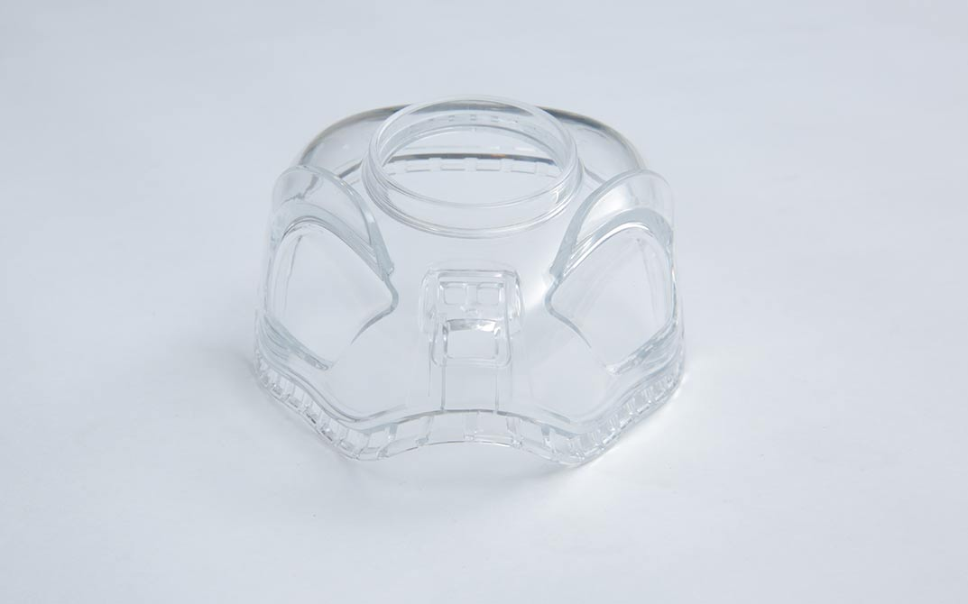transparent medical part